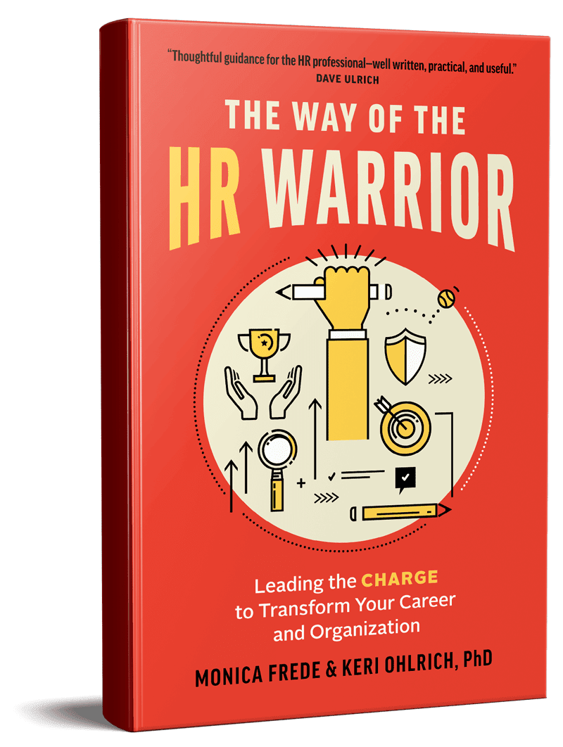 HR warrior book cover sample
